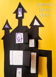 easy haunted house halloween craft kids ideas pinterest