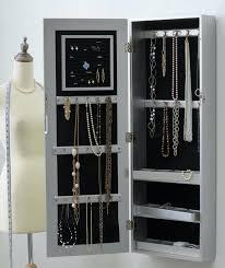 Wall Mount Jewelry Cabinet Wall Mounted Mirrored Jewellery Cabinet Uk Imanisr Com
