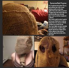 Scarecrow Mask Scarecrow Mask Progress Tutorial By Mariekovacs On Deviantart