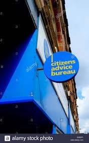 citizens advice bureau citizens advice bureau shop logo sign nottingham uk stock