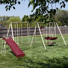 Swing Set For Backyard by Big Backyard Ashberry Ii Swing Set Hayneedle