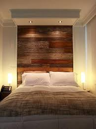wood panel headboard diy 7353