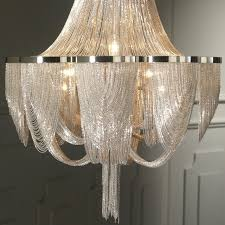 Metal Chain Chandelier Metal Chain Chandelier 28 Images The Flow Metal Chain