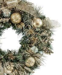 30 inch gold u0026 silver splendor wreath tree classics