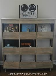 lp record cabinet furniture vinyl record cabinet storage pinteres