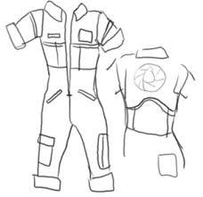 portal jumpsuit chell portal costume tutorial by lambda2441 on deviantart