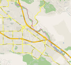 California San Jose Map by Ctorunner