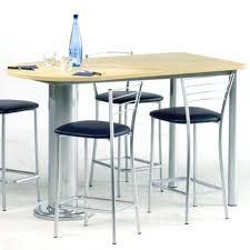 pied bar cuisine table bar la redoute table cuisine ronde pied central u