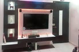 latest wall unit designs customer taste lcd unit tv cabinets manufacturer kolkata west bengal