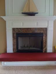 hand crafted fireplace hearth safety cushion by hearth and home