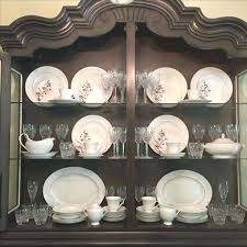 how to arrange a china cabinet pictures arranging a china cabinet medium size of antique furniture china