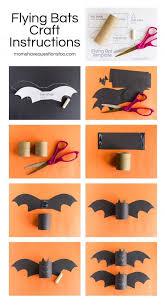 Easy Halloween Craft Projects - best 25 bat craft ideas on pinterest diy halloween bats