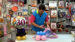 how to make a balloon centrepiece redcliffe party supplies youtube