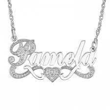personalized photo jewelry name necklace 86634 personalized jewelry