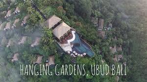 hanging gardens bali wedding youtube
