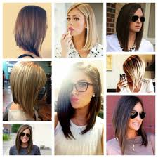 bob cut hairstyle front and back back of a long bob haircut popular long hairstyle idea