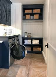 out and about artisan home tour 2017 navy cabinets white