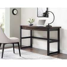 Espresso Vanity Table Colette Espresso Vanity Table Desk Crate And Barrel Regarding