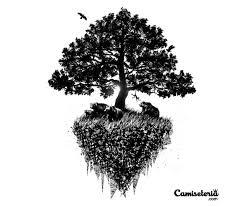 camiseteria s black tree compete tion