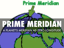 Prime Meridian Map Western Hemisphere Assignment By Grace Le