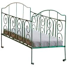 antique french wrought iron baby crib at 1stdibs