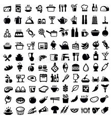 icone cuisine icône de cuisine et de nourriture illustration de vecteur