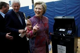 Clinton Estate Chappaqua New York With Newfound Confidence After Ny Primary Clinton Is Finally