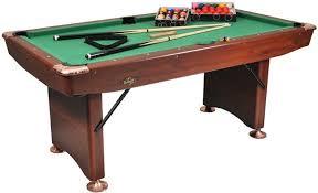 6 ft billiard table buffalo pool table challenger 6ft brown pool tables