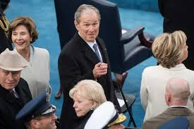 what george w bush really thought of trump u0027s inauguration