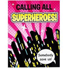calling all superheroes birthday invitation alanarasbach com
