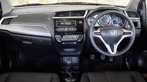 Honda Brio Smt Interior Car Models Car Latest Photos Car Reviews Car Specification