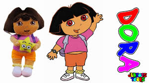 how to draw for kids coloring pages dora and friends painting