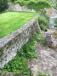 lower hill house victorian garden rebuild bespoke stone