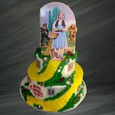Movie Themed Cake Decorations Yellow Brick Wizard Of Oz Cake Movie Themed Cakes Palermo U0027s Bakery
