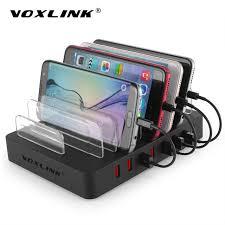 phone charger station voxlink usb charging station dock universal 8 port multi desktop usb