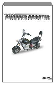 electra accessories 88905 gas chopper scooter assembly and