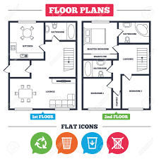 house floor plan symbols architecture plan with furniture house floor plan recycle bin