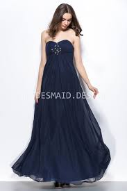beaded navy chiffon strapless empire simple vintage long