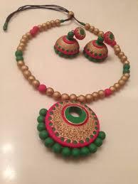 handmade necklace patterns images Handmade terracotta heavy set terracotta jewels pinterest jpg