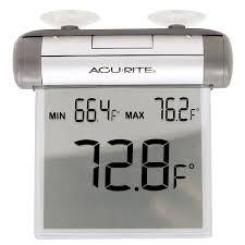 amazon com acurite 00603a1 digital window thermometer home kitchen