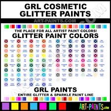 neon orange cosmetic glitter glitter paints sparkle paints