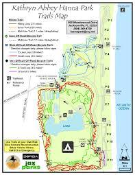 Jacksonville Map Kathryn Abbey Hanna Park Timucuan Parks Foundation