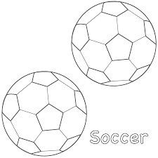 soccer ball coloring page soccer balls coloring page sports to
