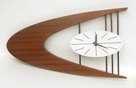 mid century modern wall clock outstanding midcentury wall clock