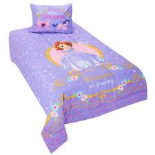 disney jr sofia the first princess in training twin comforter set