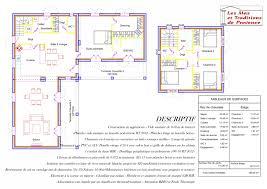 plan maison 150m2 4 chambres constructeur les et traditions de provence présente sa maison