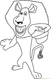 madagascar coloring pages coloringsuite com