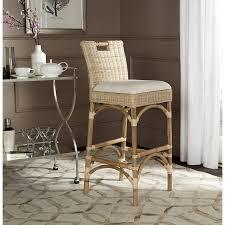 Safavieh Bistro Chairs Amazon Com Safavieh Home Collection Fremont White Barstool