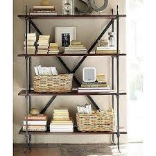 Pottery Barn Leaning Bookcase Altra Pink Ladder Bookcase