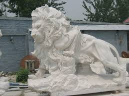 marble lions for sale size marble lions garden sculpture